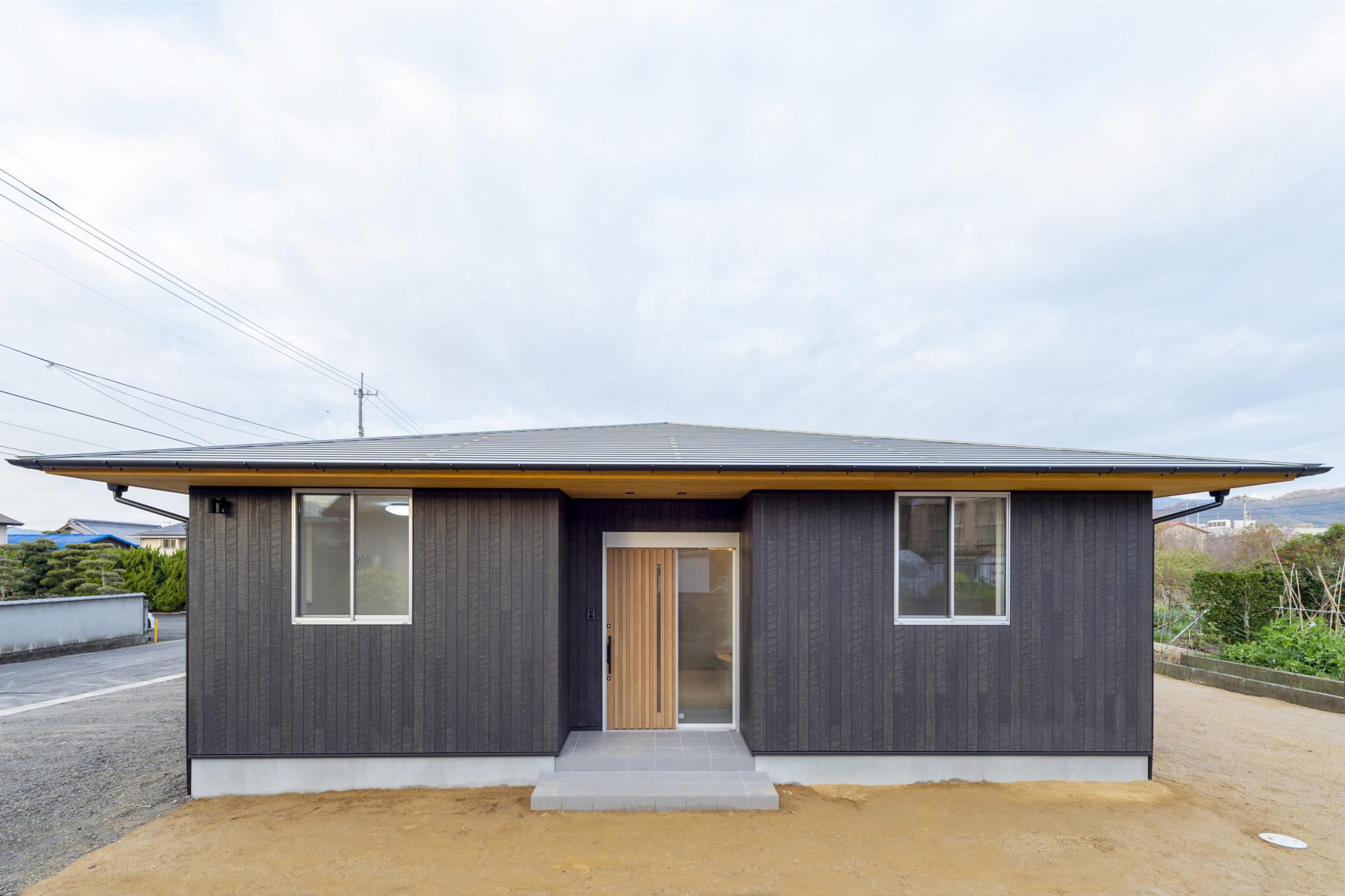 女性建築家とつくるコンパクトな平屋